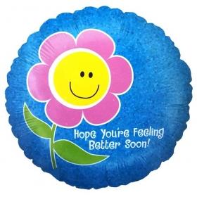 ΜΠΑΛΟΝΙ FOIL 45cm «Hope You're Feeling Better» – ΚΩΔ.:86599-BB