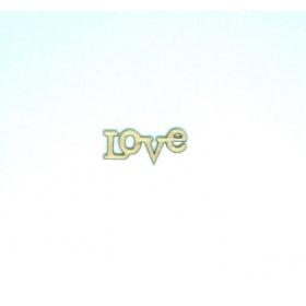 ΞΥΛΙΝΟ ΔΙΑΚΟΣΜΗΤΙΚΟ ΜΙΝΙ LOVE - ΚΩΔ:1391-ZAF