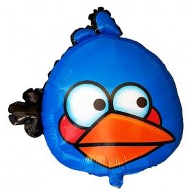ΜΠΑΛΟΝΙ FOIL 40cm SUPER SHAPE ΜΠΛΕ ANGRY BIRD -ΚΩΔ.:206182-BB