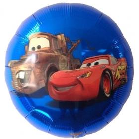 ΜΠΑΛΟΝΙ FOIL 45cm CARS DISNEY ΜΠΛΕ STREET  – ΚΩΔ:22949-BB