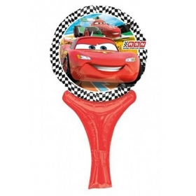 ΜΠΑΛΟΝΙ FOIL 38cm MINI SHAPE CARS DISNEY INFLATE-A-FUN  – ΚΩΔ:27026-BB