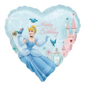 ΜΠΑΛΟΝΙ FOIL 45cm ΚΑΡΔΙΑ ΣΤΑΧΤΟΠΟΥΤΑ DISNEY «Happy Birthday»– ΚΩΔ.:515751-BB