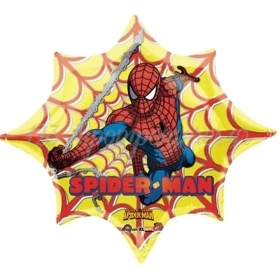 ΜΠΑΛΟΝΙ FOIL 98x84cm SUPER SHAPE SPIDERMAN ΙΣΤΟΣ - ΚΩΔ.:518187-BB