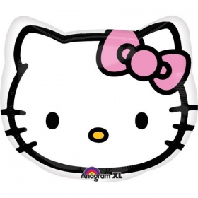 ΜΠΑΛΟΝΙ FOIL 33x38cm SUPER SHAPE HELLO KITTY ΚΕΦΑΛΙ – ΚΩΔ.:521842-BB