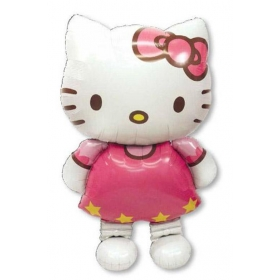 ΜΠΑΛΟΝΙ FOIL 127x76cm HELLO KITTY AIRWALKER  ΚΩΔ.:523476-BB