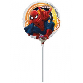 ΜΠΑΛΟΝΙ FOIL 23cm MINI SHAPE SPIDERMAN  ΚΩΔ.:526339-BB