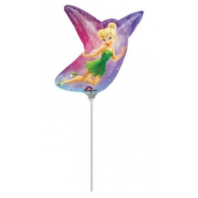 ΜΠΑΛΟΝΙ FOIL 35cm MINI SHAPE TINKERBELL DISNEY ΜΩΒ - ΚΩΔ.:526560-BB