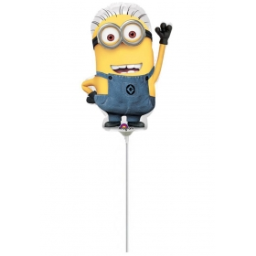 ΜΠΑΛΟΝΙ FOIL 23cm MINI SHAPE MINION – ΚΩΔ.:529957-BB