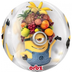 ΜΠΑΛΟΝΙ FOIL 40cm MINION DISPICABLE ME ORBZ – ΚΩΔ.:534594-BB