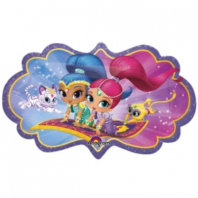 ΜΠΑΛΟΝΙ FOIL 68x40cm SUPER SHAPE SHIMMER & SHINE -ΚΩΔ.:533942-BB