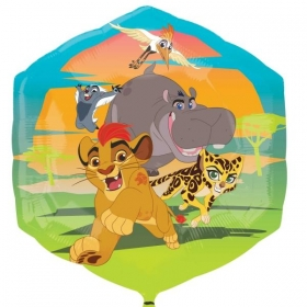 ΜΠΑΛΟΝΙ FOIL 58cm SUPER SHAPE LION GUARD KION & ΦΙΛΟΙ -ΚΩΔ.:534645-BB