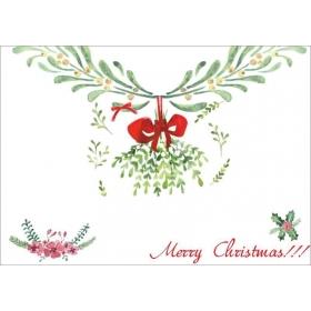 ΧΑΡΤΙΝΟ ΣΟΥΠΛΑ MERRY CHRISTMAS - ΚΩΔ:553130-7-BB