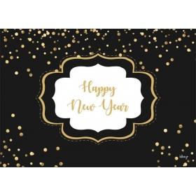 ΧΑΡΤΙΝΑ ΣΟΥΠΛΑ HAPPY NEW YEAR - ΚΩΔ:553130-8-BB