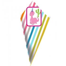 ΧΑΡΤΙΝΟ ΧΩΝΑΚΙ ΖΑΧΑΡΩΤΩΝ ΔΕΙΝΟΣΑΥΡΑΚΙΑ ΡΙΓΕΣ - ΚΩΔ:D1401-13-BB