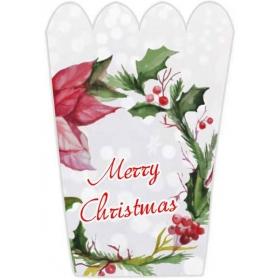ΧΑΡΤΙΝΟ ΚΟΥΤΑΚΙ ΠΟΠ-ΚΟΡΝ MERRY CHRISTMAS - ΚΩΔ:P25948-5-BB