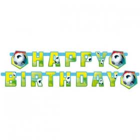 ΔΙΑΚΟΣΜΗΤΙΚΟ BANNER ΠΟΔΟΣΦΑΙΡΟ 'HAPPY BIRTHDAY' - ΚΩΔ:552566-BB