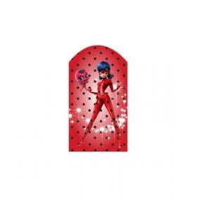 ΞΥΛΙΝΟ ΔΙΑΚΟΣΜΗΤΙΚΟ ΚΑΔΡΑΚΙ MIRACULOUS LADYBUG ΓΙΑ ΠΑΣΧΑΛΙΝΗ ΛΑΜΠΑΔΑ - ΚΩΔ:D16001-28-BB