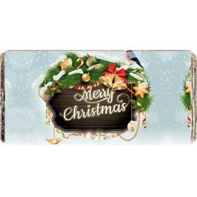 ΧΡΙΣΤΟΥΓΕΝΝΙΑΤΙΚΗ ΣΟΚΟΛΑΤΑ ΠΙΝΑΚΙΔΑ 'MERRY CHRISTMAS' - ΚΩΔ:XS1501-27-BB