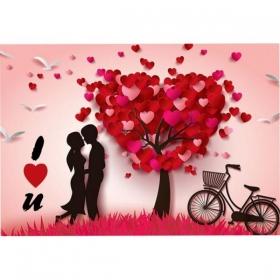 ΚΑΡΤΑ ΒΑΛΕΝΤΙΝΟΥ 'I LOVE YOU' ΔΕΝΤΡΟ ΤΗΣ ΑΓΑΠΗΣ - ΚΩΔ:VC1702-26-BB