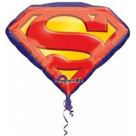 ΜΠΑΛΟΝΙ FOIL SUPERSHAPE ΕΜΒΛΗΜΑ ΤΟΥ SUPERMAN 66x50cm – ΚΩΔ.:529692-BB