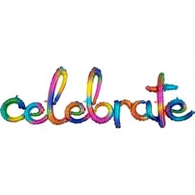 ΜΠΑΛΟΝΙ FOIL 149x50 ΓΙΑ ΓΕΝΝΗΣΗ SUPERSHAPE ΟΥΡΑΝΙΟ ΤΟΞΟ «CELEBRATE» – ΚΩΔ.:539183-BB