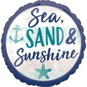 ΜΠΑΛΟΝΙ FOIL 43cm SEA SAND AND SUNSHINE – ΚΩΔ.:539689-BB