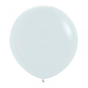ΑΣΠΡΑ ΜΠΑΛΟΝΙΑ 24΄΄ (60cm)  LATEX – ΚΩΔ.:13524005-BB