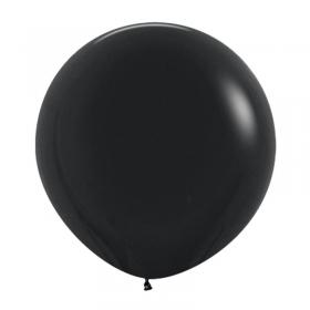 ΜΑΥΡΑ ΜΠΑΛΟΝΙΑ 24΄΄ (60cm)  LATEX – ΚΩΔ.:13524080-BB