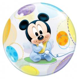 """ΜΠΑΛΟΝΙ FOIL 22""""(56cm) ΜΩΡΟ MICKEY MOUSE Bubble – ΚΩΔ.:16432-BB"""