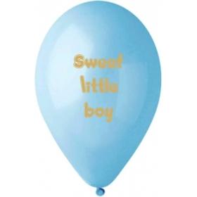 ΓΑΛΑΖΙΑ ΤΥΠΩΜΕΝΑ ΜΠΑΛΟΝΙΑ 13'' (33cm) LATEX «Sweet Little Boy» – ΚΩΔ.:13613293-BB