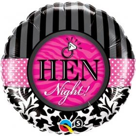 ΜΠΑΛΟΝΙ FOIL SUPER SHAPE 45cm «Hen Night» – ΚΩΔ.:18456-BB