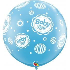 BABY BOY ΜΠΑΛΟΝΙ 36'' (90cm) LATEX – ΚΩΔ.:18509-BB