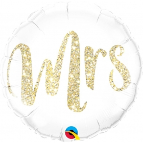 ΜΠΑΛΟΝΙ FOIL SUPER SHAPE 45cm «Mrs» – ΚΩΔ.:57316-BB