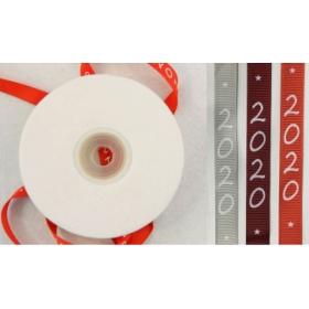 ΚΟΡΔΕΛΑ ΓΚΡΟ ΜΕ 2020 ΛΕΥΚΟ ΤΥΠΩΜΑ 0.6cm x 22.9m - ΚΩΔ:501256