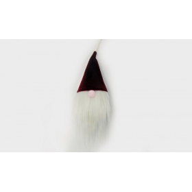 ΚΡΕΜΑΣΤΟΣ ΑΓΙΟΣ ΒΑΣΙΛΗΣ ΒΕΛΟΥΔΙΝΟ ΚΑΠΕΛΟ 19cm - ΚΩΔ:531040