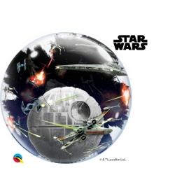 ΜΠΑΛΟΝΙ FOIL ΔΙΠΛΟ BUBBLE 61cm STAR WARS – ΚΩΔ.:21320-BB