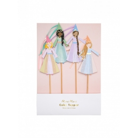 Party Cake Toppers Magical Princess - ΠΡΙΓΚΗΠΙΣΣΕΣ  - ΚΩΔ:192157-JP
