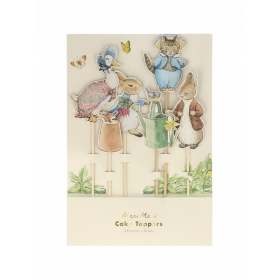 Cupcake Toppers Peter Rabbit & Friends - 6 ΤΜΧ - ΚΩΔ:203159-JP