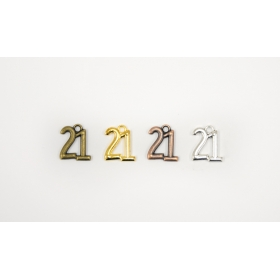 ΜΕΤΑΛΛΙΚΟ ΚΡΕΜΑΣΤΟ ΜΙΚΡΟ 1.3x1.4cm - ΚΩΔ:517918