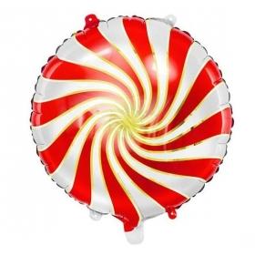 ΜΠΑΛΟΝΙ FOIL CANDY ΚΟΚΚΙΝΟ 35cm - ΚΩΔ:FB20M-007-BB