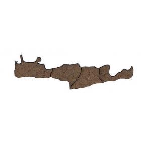 ΞΥΛΙΝΟ ΣΚΟΥΡΟΧΡΩΜΟ ΚΡΗΤΗ 5X1CM - ΚΩΔ:M1419-AD