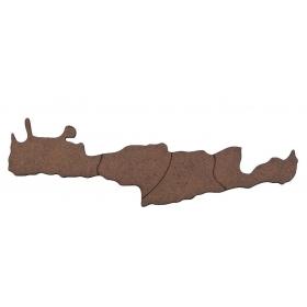 ΞΥΛΙΝΟ ΣΚΟΥΡΟΧΡΩΜΟ ΚΡΗΤΗ 13X2.8CM - ΚΩΔ:M1421-AD