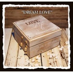 ΚΟΥΤΙ ΕΥΧΩΝ ΞΥΛΙΝΟ - ΚΩΔ: DREAM-LOVE-BM