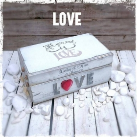 ΚΟΥΤΙ ΕΥΧΩΝ ALL YOU NEED IS LOVE ΚΩΔ: LOVE-BM