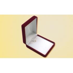 ΒΕΛΟΥΤΕ ΚΟΥΤΙ ΣΤΑΥΡΟΥ   7.7 x 6 x 3 cm ΜΠΟΡΝΤΩ - ΚΩΔ: 206008