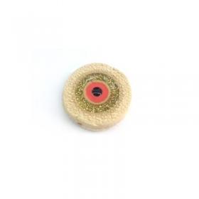 Κεραμικό Στοιχείο Στρογγυλό Μάτι με Σμάλτο Περαστό 22mm (Ø2mm) - ΚΩΔ:A1386-NG