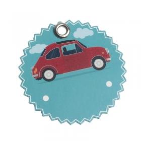Χάρτινη ετικέτα αυτοκίνητο - ΚΩΔ:81527-PR