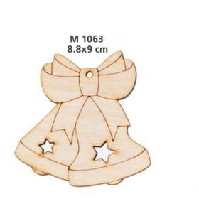 ΓΟΥΡΙ ΞΥΛΙΝΕΣ ΚΑΜΠΑΝΕΣ ΜΕ ΦΙΟΓΚΟ ΚΑΙ ΑΣΤΕΡΙΑ ΜΕΓΑΛΕΣ - ΚΩΔ:M1063-AD