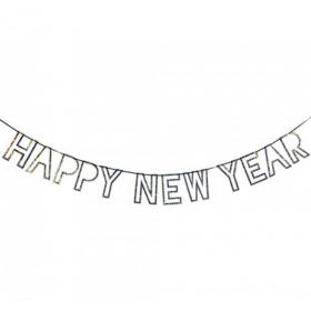 ΓΙΡΛΑΝΤΑ HAPPY NEW YEAR 2,5Μ - ΚΩΔ:150769-JP