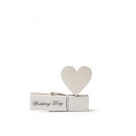 ΞΥΛΙΝΟ ΜΑΝΤΑΛΑΚΙ WEDDING DAY ΜΕ ΚΑΡΔΙΑ 7,2Χ5,5ΕΚ - ΚΩΔ:102657-GN